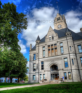 Jasper County Courthouse in Rensselaer, Indiana.