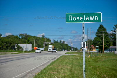 Roselawn, Indiana along State Road 10