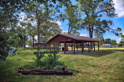 Ralph Hanke Memorial Park in San Pierre, Indiana
