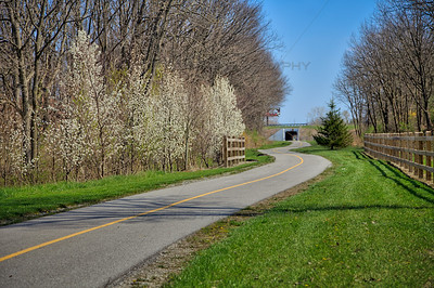 Pennsy Greenway Bike Trail - Schererville Bike Trail in Northwest Indiana