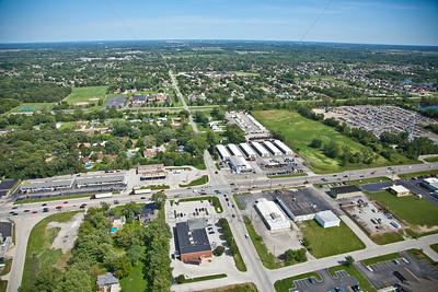 Aerial photo of Schererville, Indiana