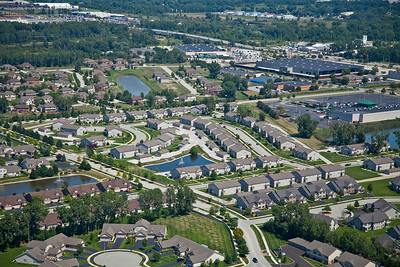 Aerial photo of Schererville, Indiana