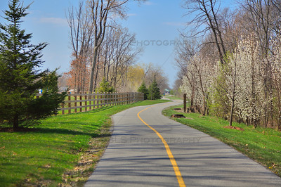 Schererville Bike Trail - Pennsy Greenway Bike Trail