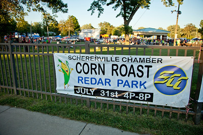 Schererville, Indiana Corn Roast at Redar Park
