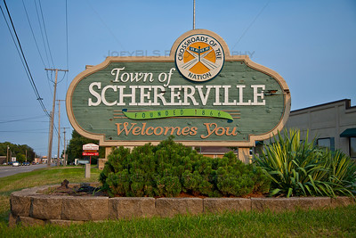 Welcome to Schererville, Indiana
