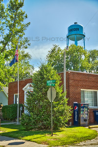 Schneider, Indiana Town Hall and Water Tower