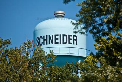 Schneider, Indiana Water Tower
