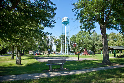 Schneider, Indiana Water Tower and Park