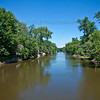 Kankakee River in Shelby, Indiana