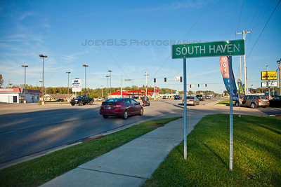 US Route 6 in South Haven, Indiana