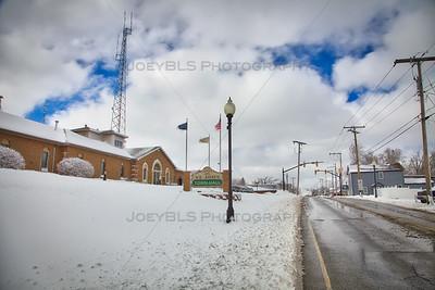 St John, Indiana in Winter