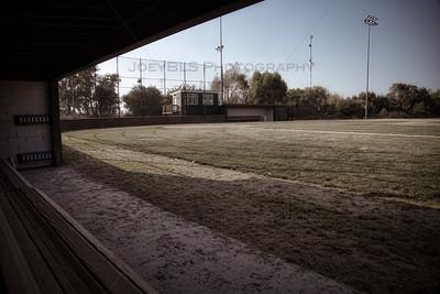 St John, Indiana Babe Ruth Baseball Field Dugout