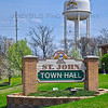 St John, Indiana Town Hall and Water Tower