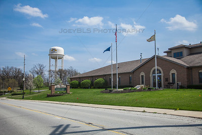 St John, Indiana Town Hall Spring