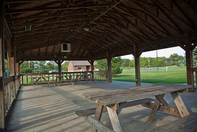 Veterans Civic Park Picnic Shelter in St John, Indiana