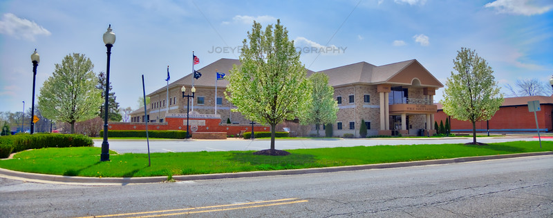 St John, Indiana Police Station and Fire Station
