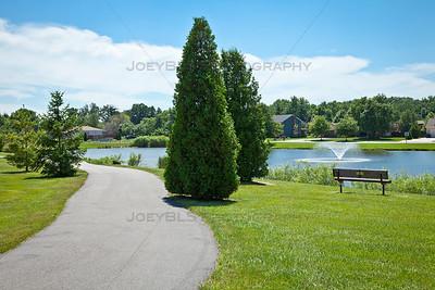 St John, Indiana Walking and Bike Trail