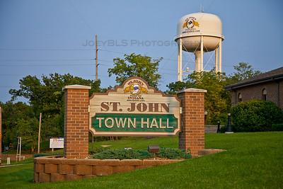 St John, Indiana Town Hall
