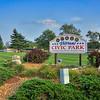 Veterans Civic Park in St John, Indiana