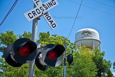 St. John, Indiana Railroad Crossing
