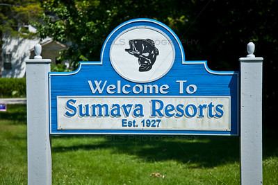 Sumava Resorts, Indiana Welcome Sign