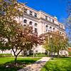 Porter County Court House Valparaiso Indiana Spring