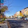 Lincolnway Downtown Valparaiso, Indiana Scene