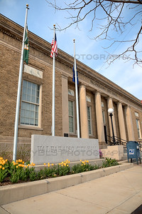 Valparaiso, Indiana City Hall in the Spring