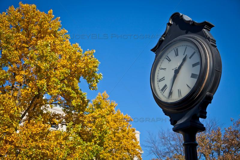 Valparaiso Indiana Clock on the Square
