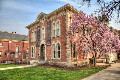 Porter County Museum in Valparaiso in the Spring