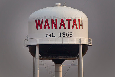 Wanatah, Indiana Water Tower