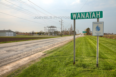 Wanatah, Indiana Sign