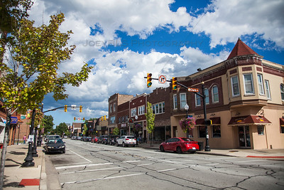 Downtown Whiting, Indiana Stores and Restaurants on 119th Street