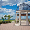 Gazebo in Whiting Lakefront Park