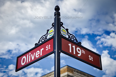 Oliver and 119th Street in Whiting, Indiana