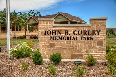 John B. Curley Memorial Park in Winfield, Indiana