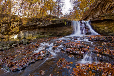 The Waterfall at McCormick's Creek State Park