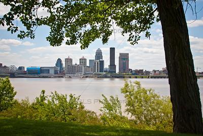 Downtown Louisville, Kentucky Skyline