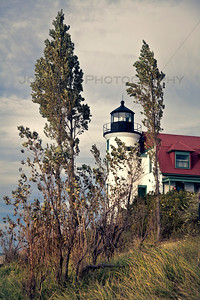 Point Betsie Lighthouse in Frankfort, Michigan