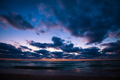 The Beach in Empire, Michigan