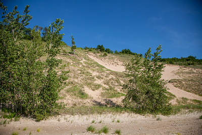 Sand Dunes in Glen Arbor, Michigan