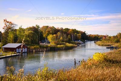 The Narrows of Lake Leelanau in Lake Leelanau, Michigan