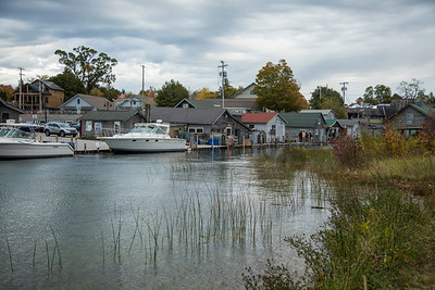 Historic Fishtown in Leelanau County