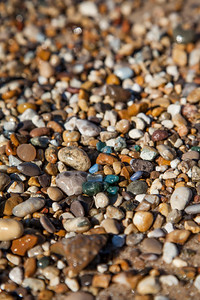 Beach Rocks in Leland, Michigan