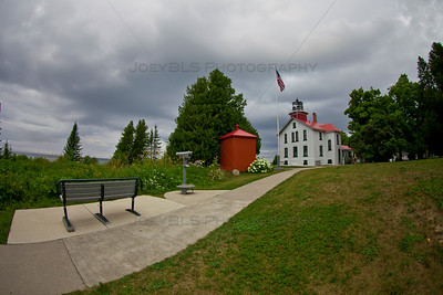 Grand Traverse Lighthouse in Northport, Michigan