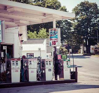 Northern Michigan Old Gas Tanks