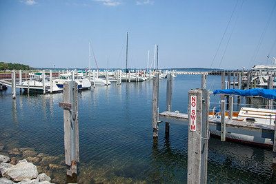 Northport, Michigan Marina in the Summer