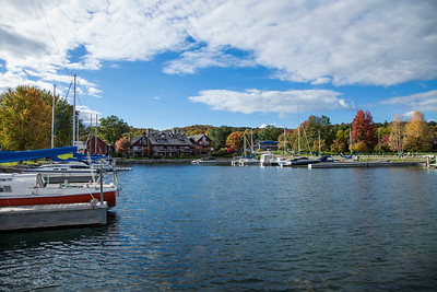 Suttons Bay, Michigan Lakefront Park and Marina