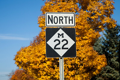 M22 Near Suttons Bay, Michigan
