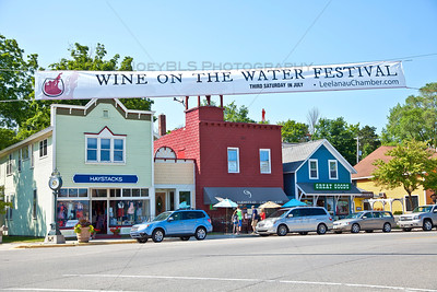 Wine on the Water Festival in Suttons Bay, Michigan